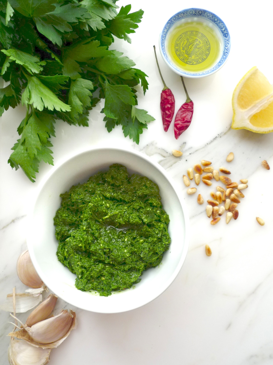charlotteats - pesto