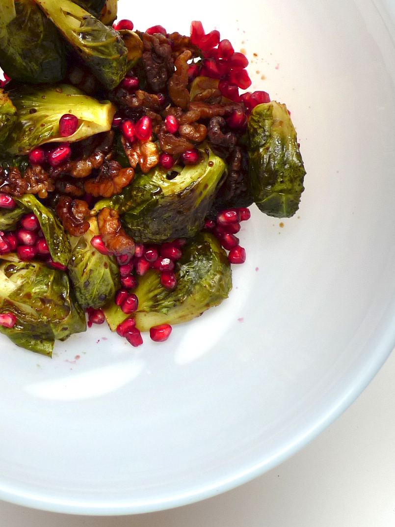 how to prepare brussel sprouts for salad