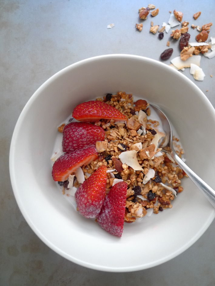 charlotteats toasted muesli