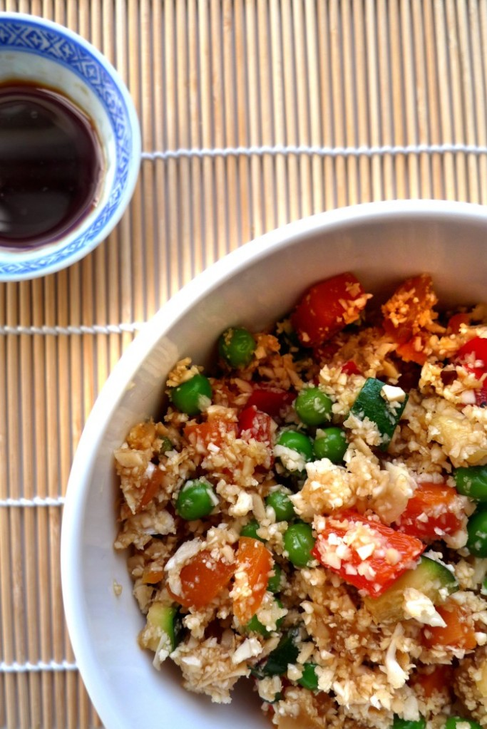 charlotteats fried cauliflower rice