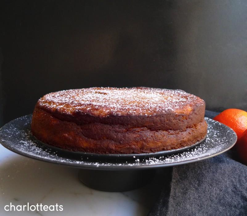 charlotte eats orange cake