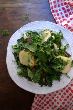 charlotte eats farmers market salad
