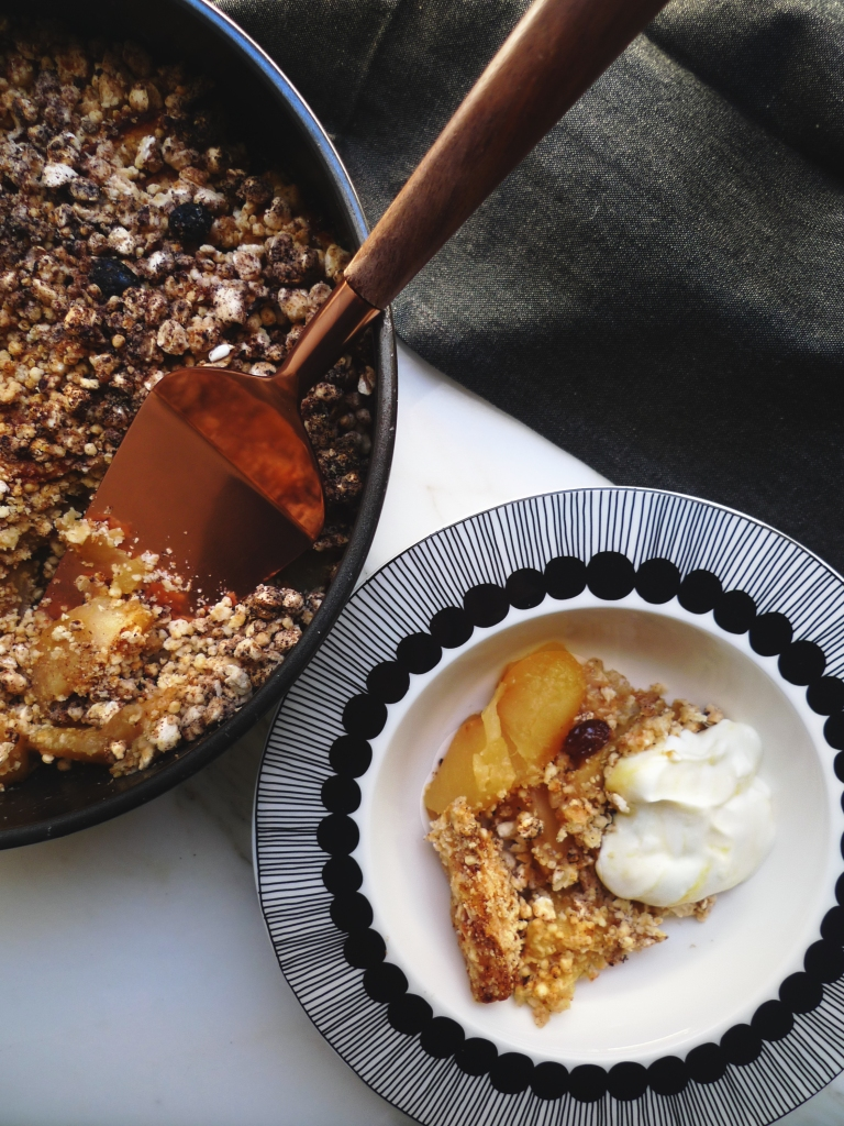 charlotteats apple crumble