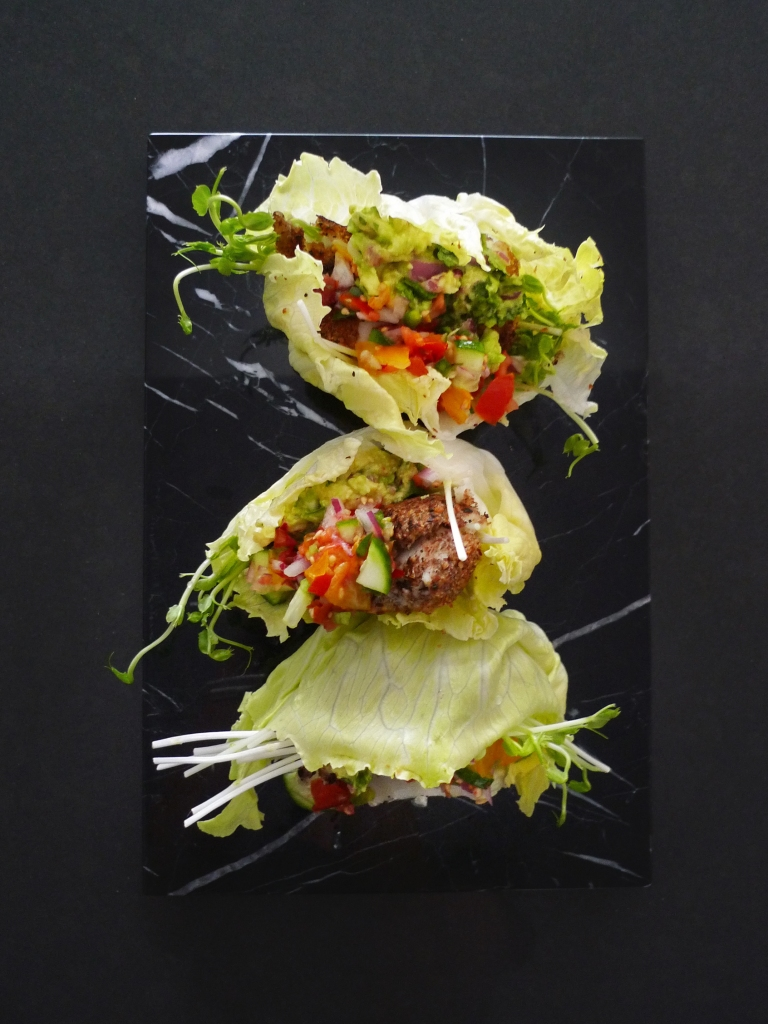 charlotte eats fish lettuce cup tacos